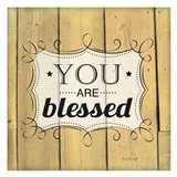 You Are Blessed Art Print