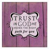 Trust in God Art Print