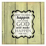 God Will Make Happen Art Print