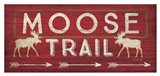 Moose Trail Art Print