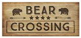 Bear Crossing Art Print