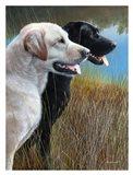 Hunting Companions Art Print