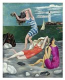 The Bathers, 1918 (Las Banistas) Art Print