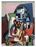 Harlequin Musician, 1924 (Arlequin Musicien) Art Print