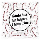 Santa's Helpers - Wine Art Print