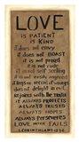 Love is Patient Art Print