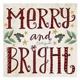 Merry & Bright Art Print