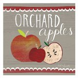 Orchard Apples Art Print