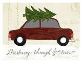 Dashing Art Print