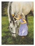 Grace and the Grey Art Print