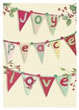Joy, Peace, Love Art Print