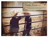 Cowboy Reason I Art Print
