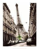 Big Jump in Paris Art Print