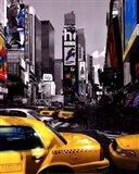 Rush Hour on Broadway Art Print