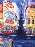 Piccadilly Circus, London Art Print