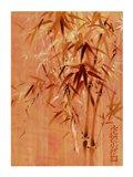 Bamboo Leaves II Art Print