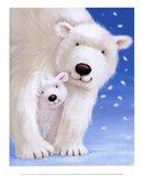 Fluffy Bears I Art Print