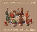 Salad Bar Art Print