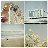 Summer Memories 1, Motel Art Print