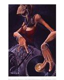 DJ Jewel Art Print