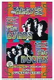 The Byrds, The Doors Art Print