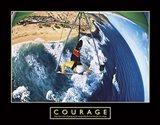 Courage - Hang Glider Art Print