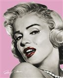 Marilyn Monroe - Lips Art Print
