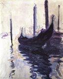 Gondolas in Venice, c.1910 Art Print