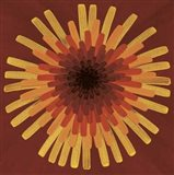 Red Dandelion I - 2002 Art Print