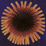 Violet Dandelion II - 2002 Art Print