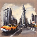 New York - Flatiron Building Art Print