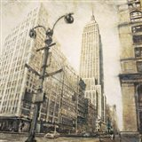 Empire State Building from Madison Ave. Art Print