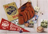 Vintage Red Sox Art Print