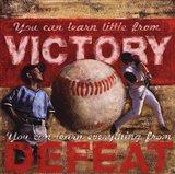 Victory- Baseball Art Print