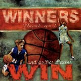 Winners - Basketball Art Print