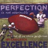 Perfection- Football Art Print