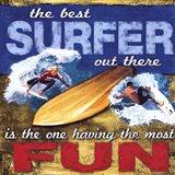 Fun- Surfing Art Print