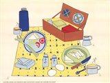 Picnic Basket Art Print
