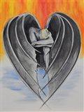 Dark Hearted Art Print