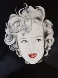 Kissy Face Marilyn Art Print