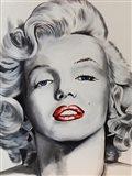 Pin up Marilyn Art Print