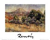 Le Mont St. Victoire Art Print