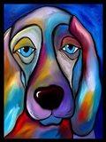 The Regal Beagle Art Print