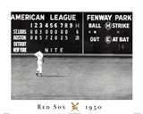 Red Sox- Blow Out Art Print