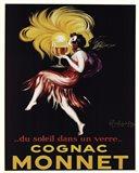 Cognac Monnet Art Print