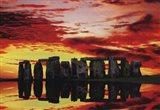 Stone Henge Reflections Art Print