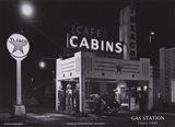 Gas Station, c.1945 Art Print