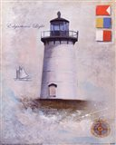 Edgartown Light Art Print