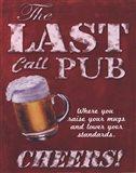 Last Call Pub Art Print