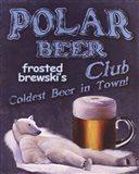 Polar Beer Club Art Print